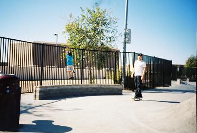 Escaping the skatepark for some odd reason