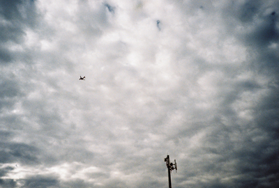 more planes and clouds