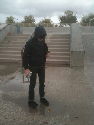 Todd Rained out at Tempe