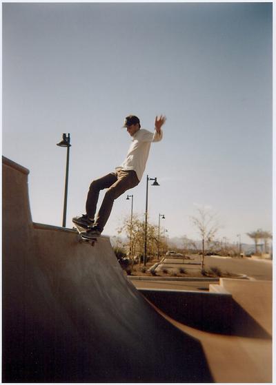 Charlie - smith grind - El Mirage