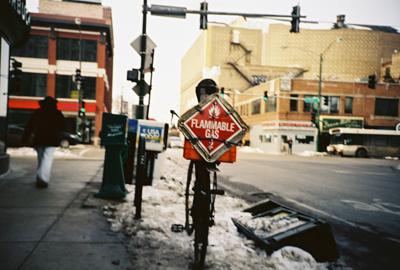flammable bike