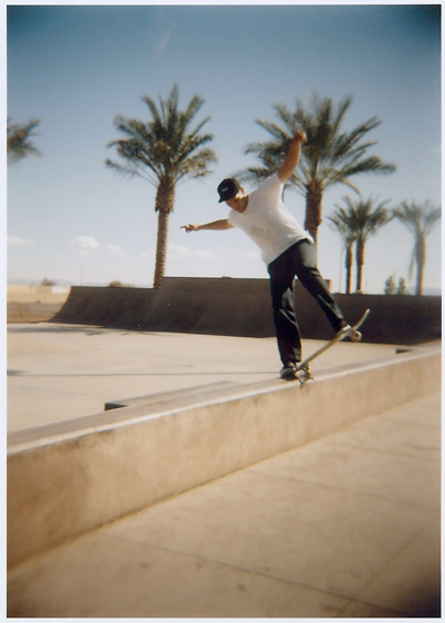 Ryan Bluntslide at El Mirage