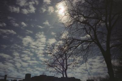 springtime sky