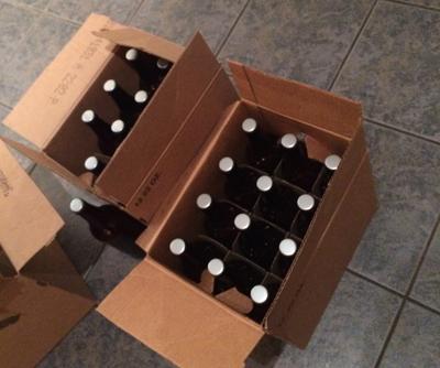 freshly bottled
