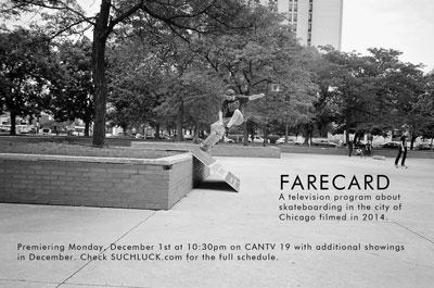 Farecard Chicago 2014 Skateboarding