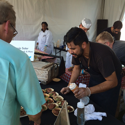 smalls at chicago gourmet
